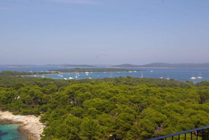 eiland Dugi Otok, uitzicht vuurtoren