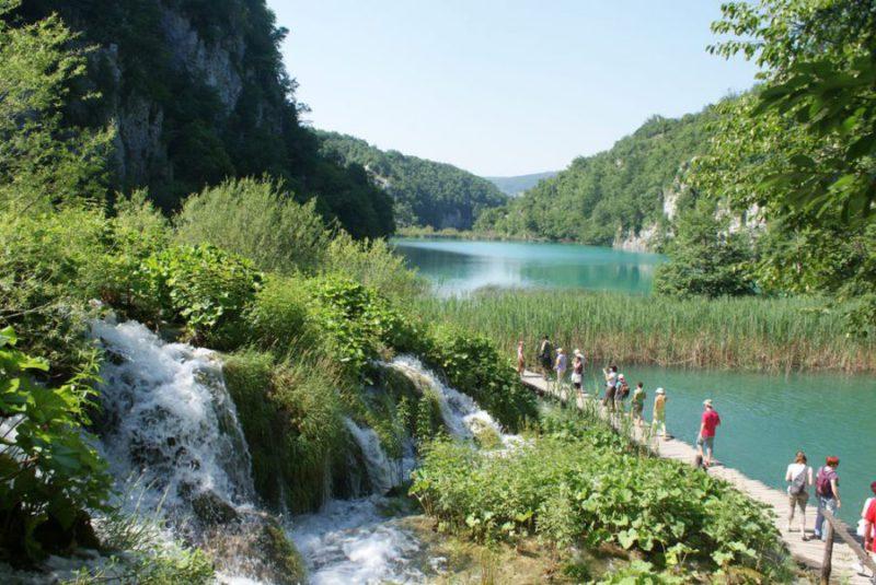 Plitvice meren, natioanaal park Kroatie