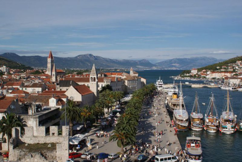 Trogir haven