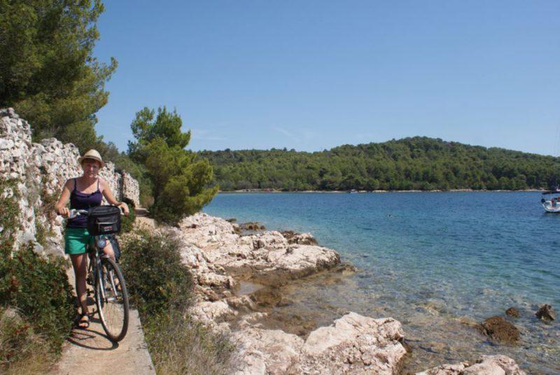 eiland Ugljan fietsen