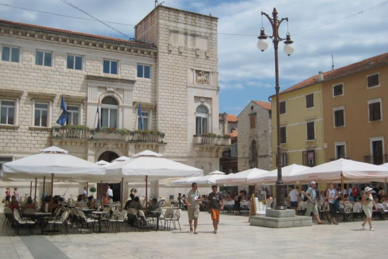 volksplein Zadar