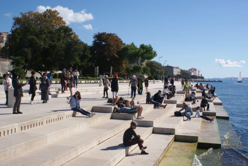 Nazomer en herfst in Zadar