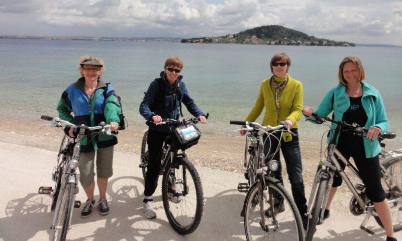fiesten op het eiland Ugljan