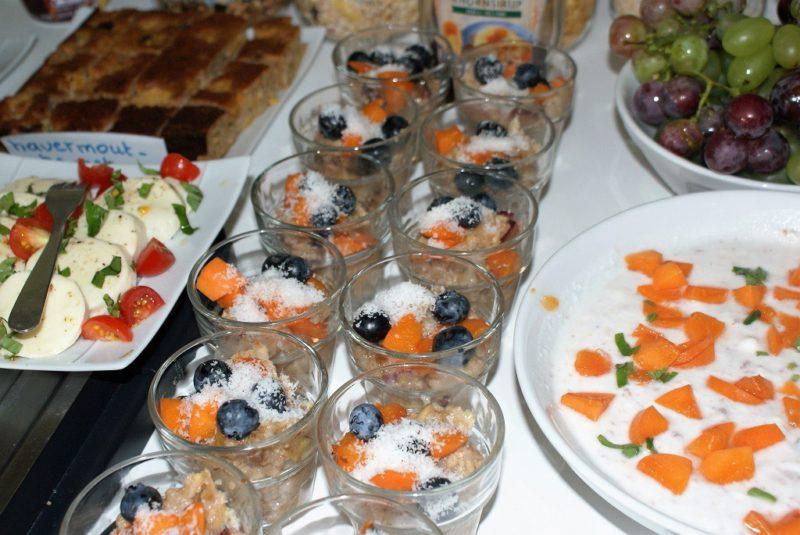 uitgebreid vegetarisch ontbijt in B&B Kuca Bajlo Zadar