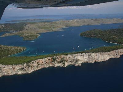 luchtfoto dugi otok