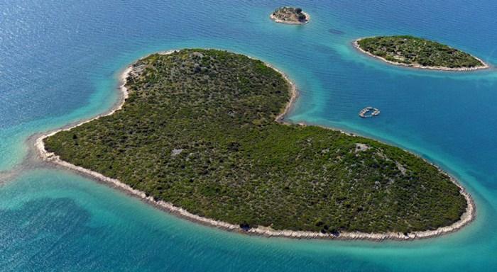 Eiland Galešnjak, eiland van de liefde
