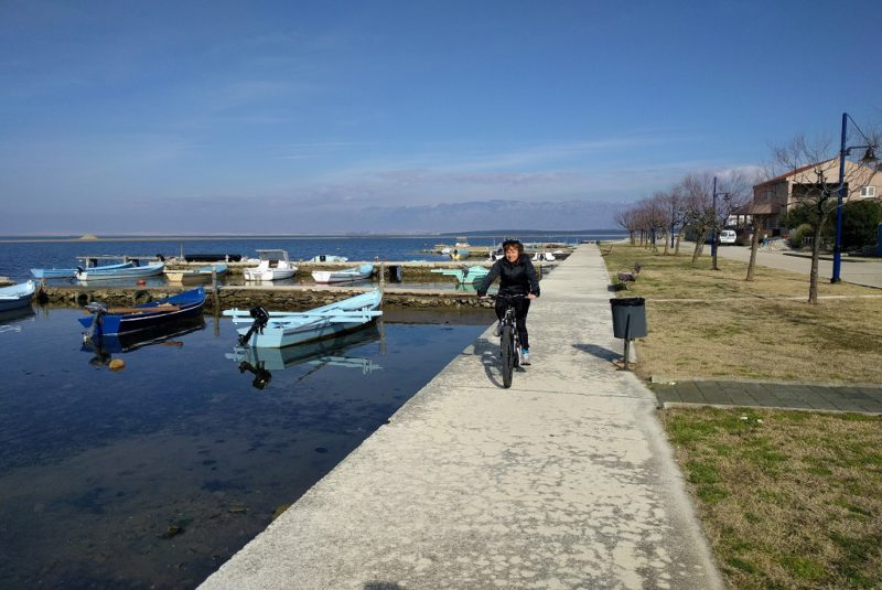 fietstocht rond Nin