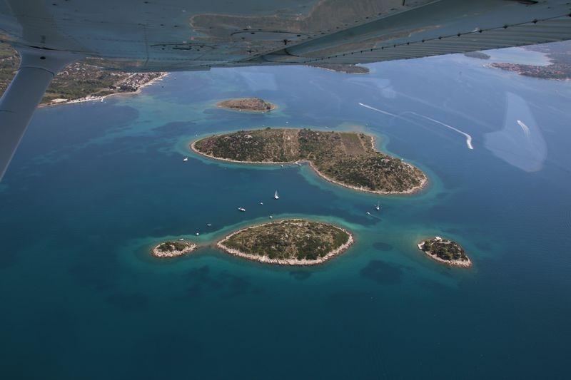 eiland van de liefde Galešnjak