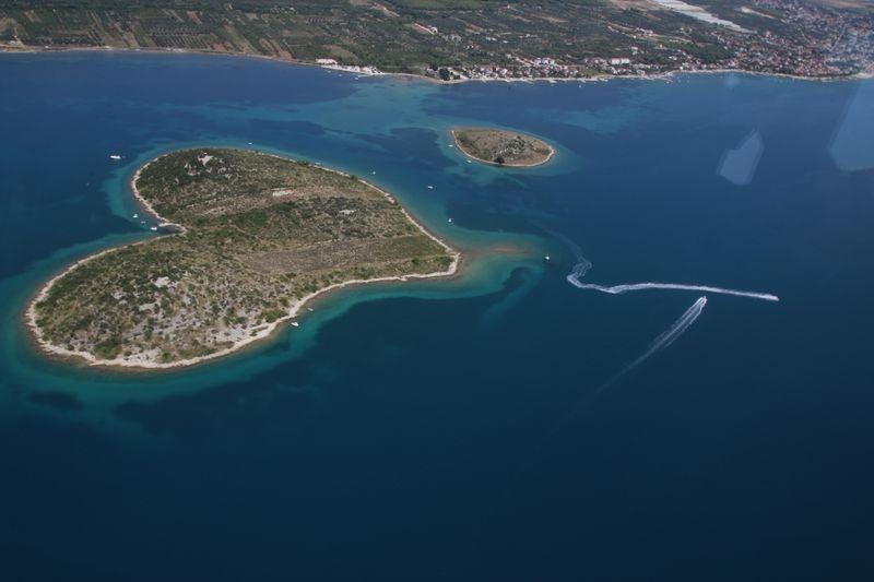 Galešnjak, eiland van de liefde