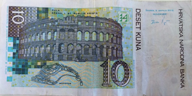 10 kuna, kroatische munteenheid