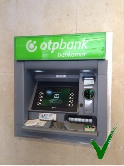 Bankautomaat OTP bank