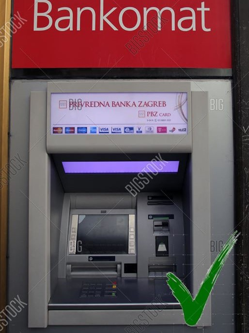 Bankautomaat PBZ