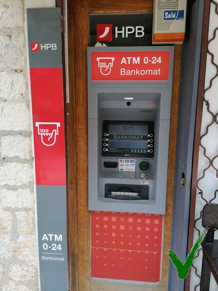 Bankautomaat HPB