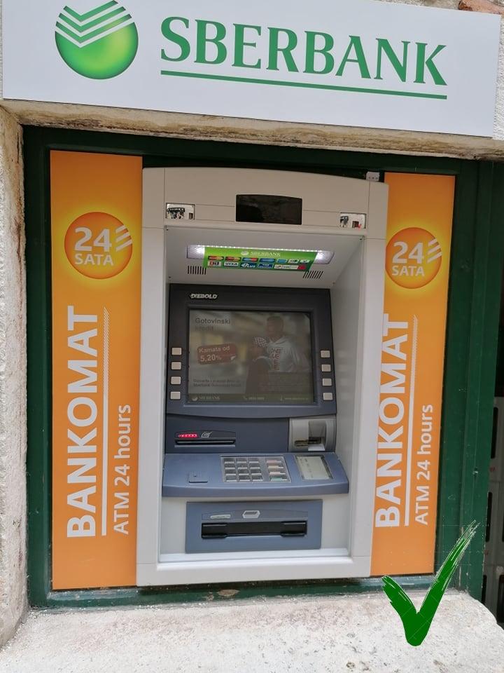 Bankautomaat Sber