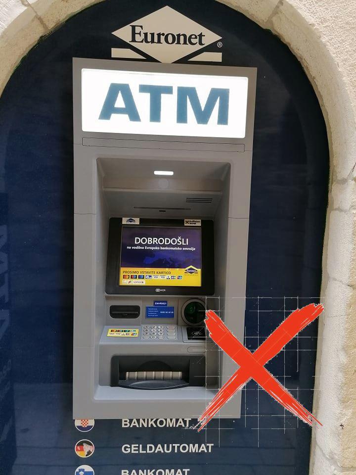 Bankautomaat Euronet