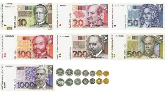 Kuna, de Kroatische munteenheid
