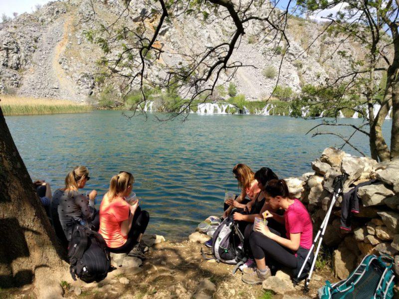 picknick aan Kudin Most