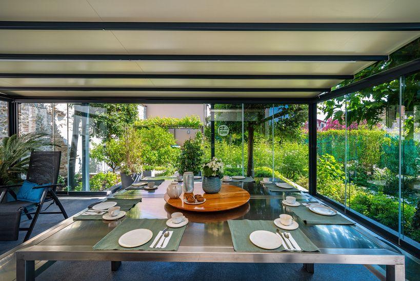 ontbijt in veranda