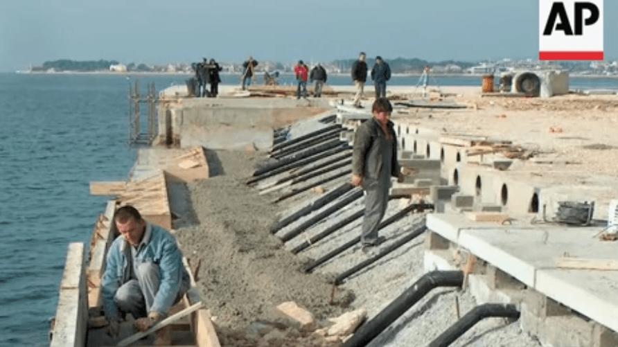 zeeorgel bouwwerken