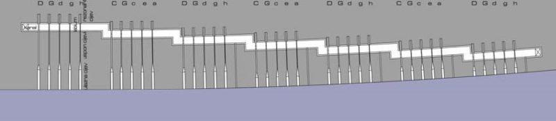 35 orgelpijpen