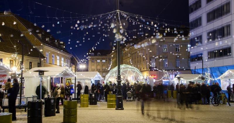 European square kerstmarkt