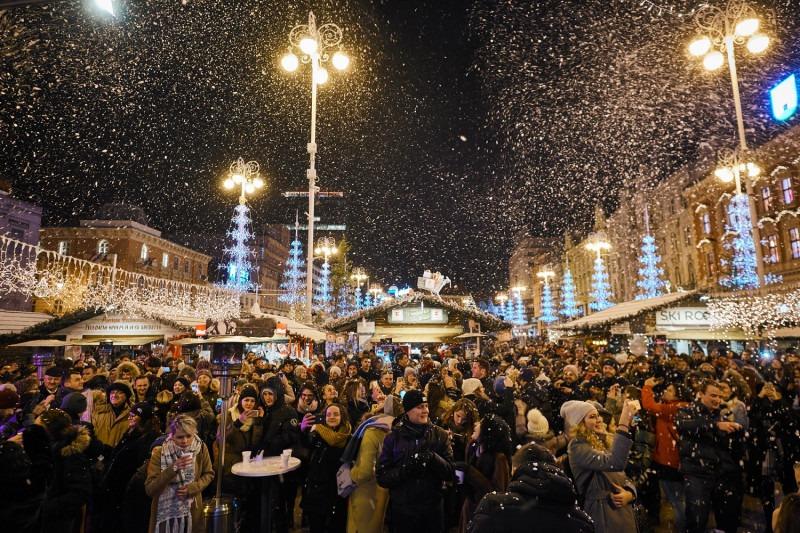 Kerstmarkt in Zagreb, de mooiste van Europa!