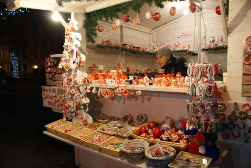 kerstmarkt Zrinjevac