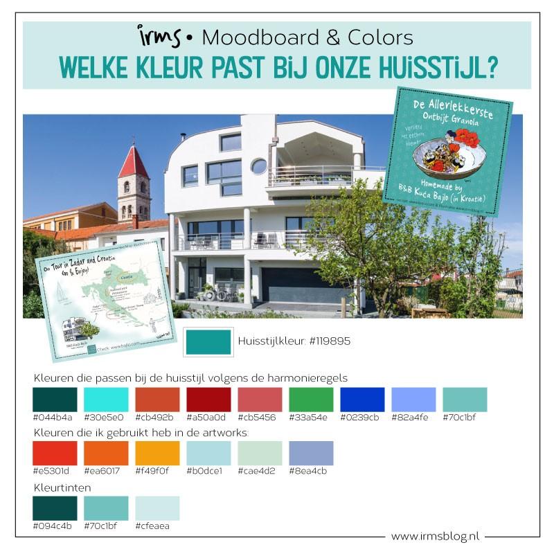 kleurenkaart en huisst-ijlkleuren