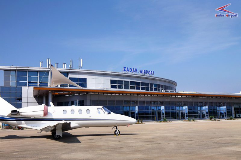 luchthaven van Zadar
