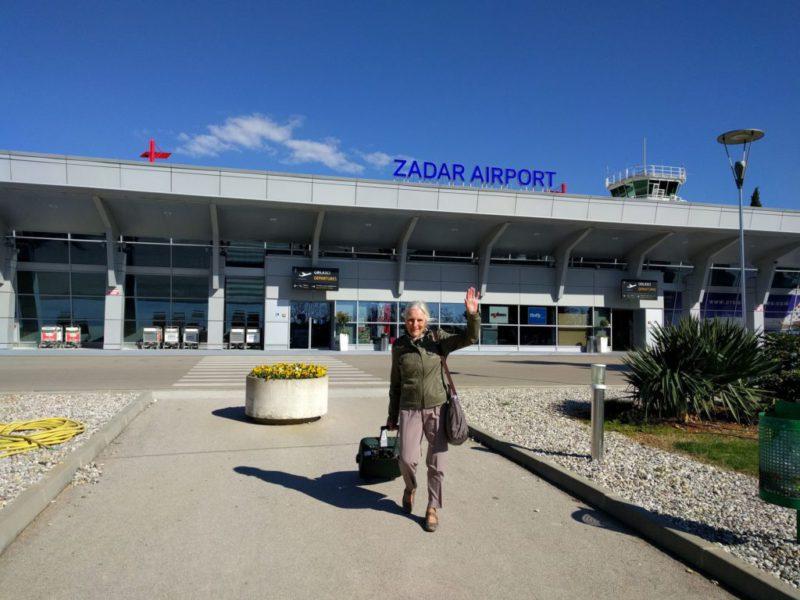 Vluchten naar Zadar, Kroatië