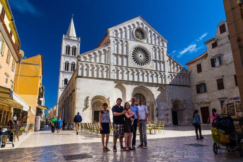 kathedraal Zadar Bajlo