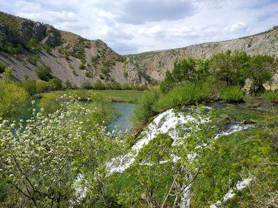 Krupa rivier lente