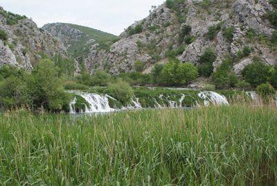 Krupa rivier watervallen