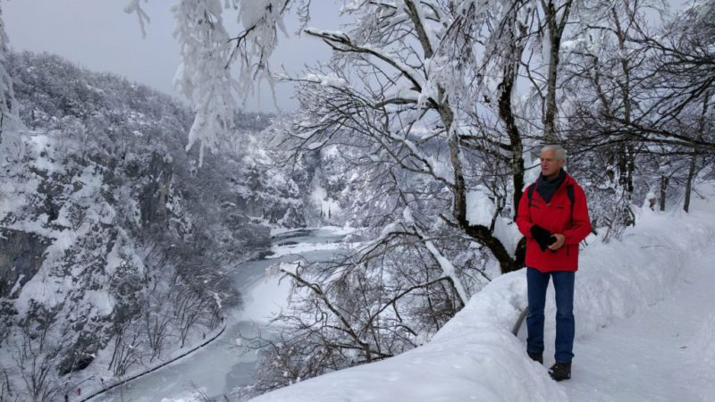 winterwandeling Plitvice