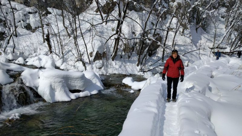 winter in Plitivice