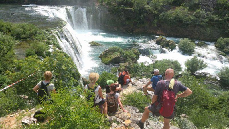 Zrmanja rivier waterval