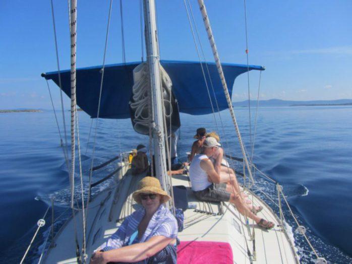 zeilen kornatie boot