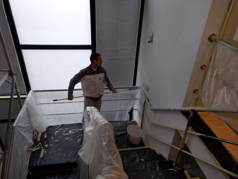 schilderen traphal