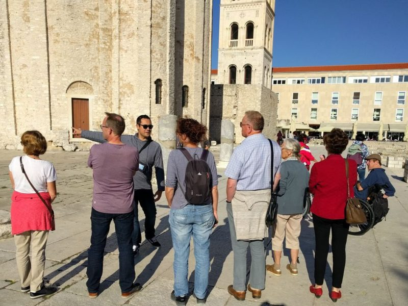 donatkerk en forum in zadar