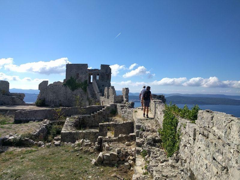 fort van Sv Mihovil op eiland Ugljan