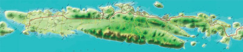 toeristische map