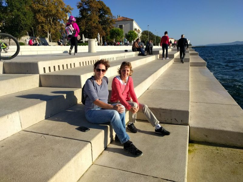 zeeorgel en riva Zadar