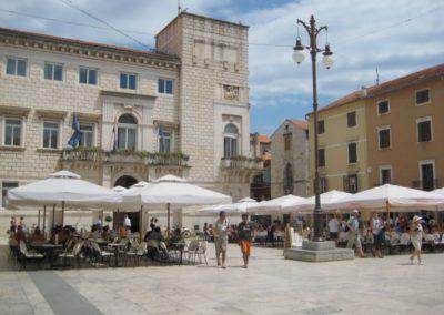 Zadar, volksplein