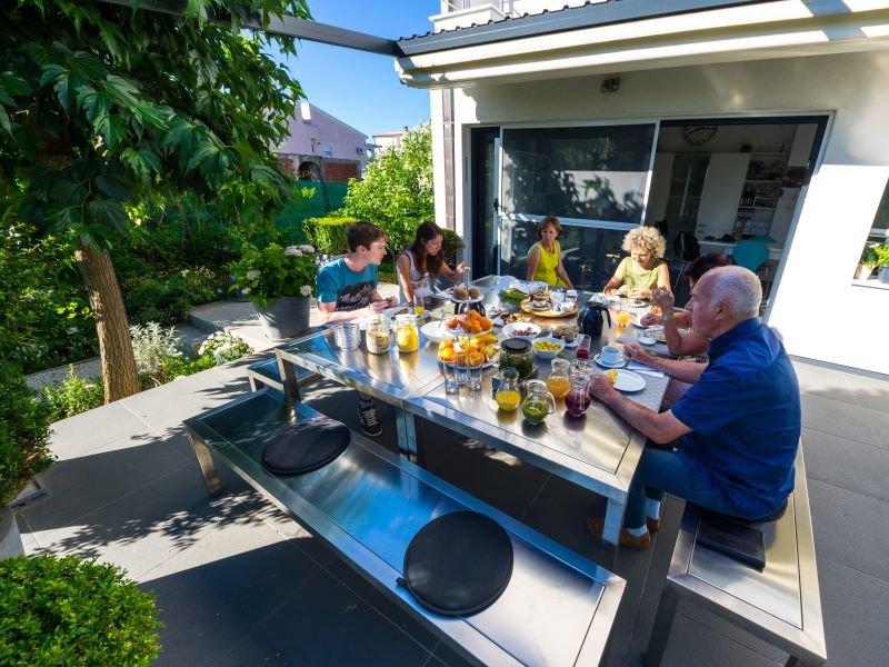 B&B Zadar, ontbijt, vakantie bij Belgen in Kroatië
