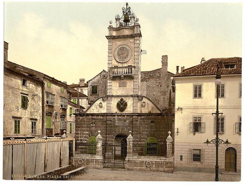 toren stadswacht Zadar