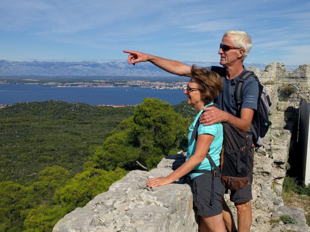 griet en Anri op eiland Ugljan