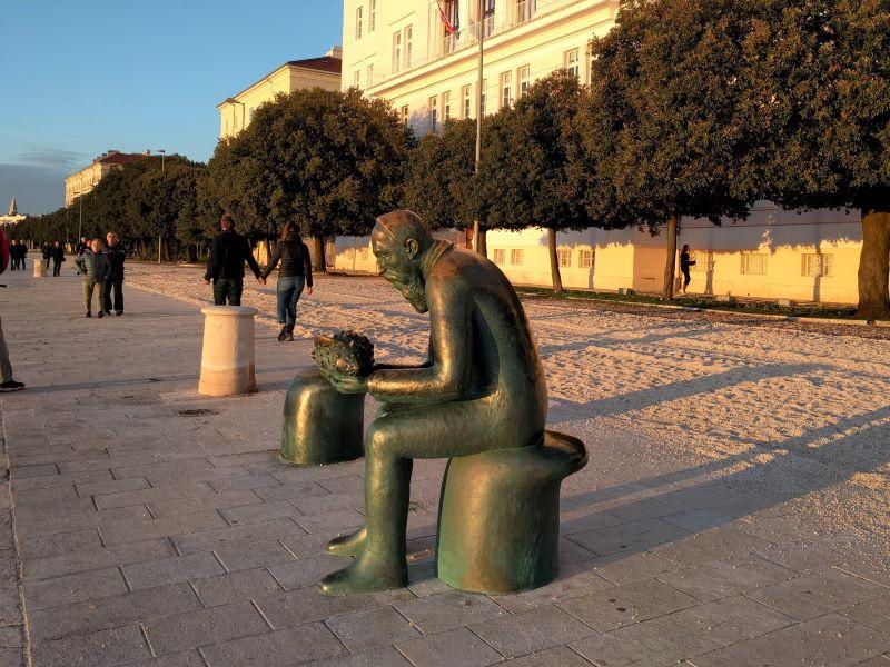 riva en universiteit Zadar