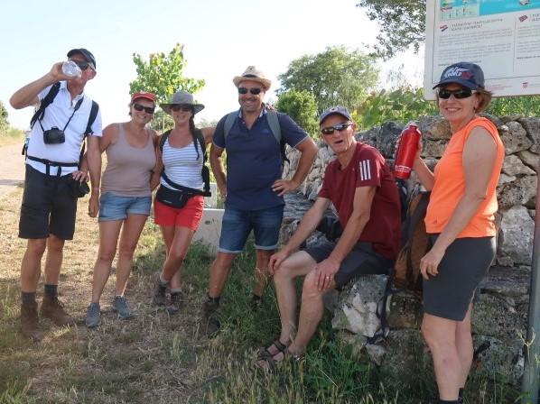 vakantieherinneringen begeleide wandeling Ugljan