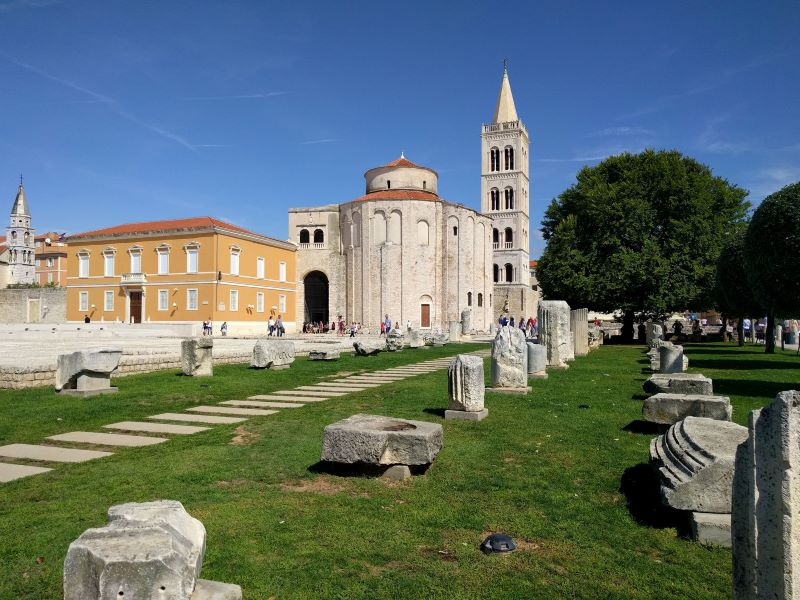 romeinse forum Zadar