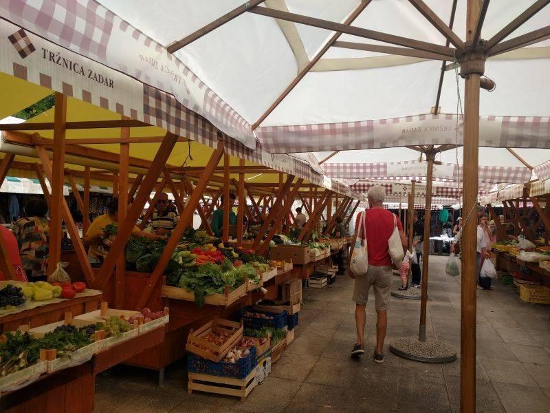 groentemarkt Zadar